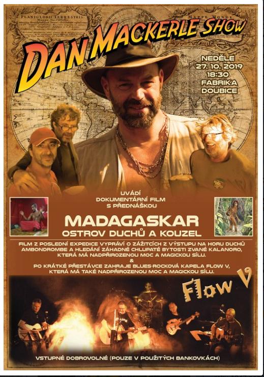 plakát Dan Macekrle show